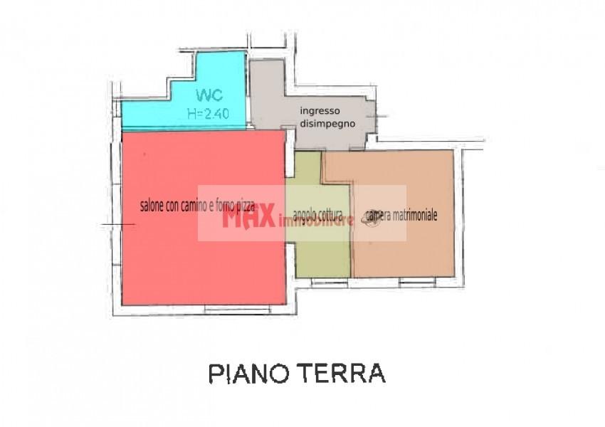 Montelabbate, zona Montelabbate - Casa Unifam. / Villa in Vendita | Min. Planimetria 5