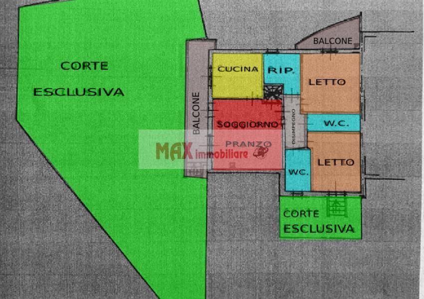 Pesaro, zona Siligate, Appartamento in Vendita