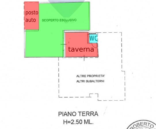 Pesaro, zona Cattabrighe - Appartamento in Vendita | Planimetria 2