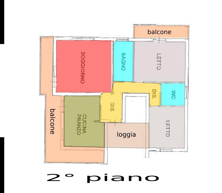 Montelabbate, zona Montelabbate - Casa Unifam. / Villa in Vendita | Planimetria 3