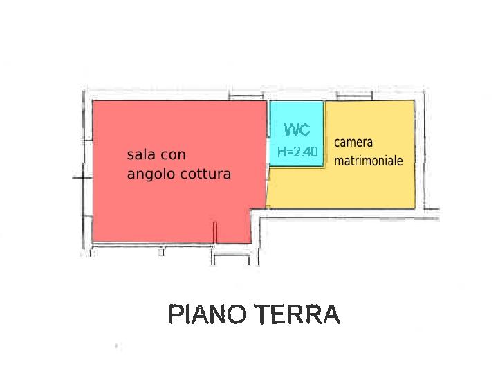 Montelabbate, zona Montelabbate - Casa Unifam. / Villa in Vendita | Planimetria 6